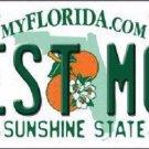 Best Mom Florida Novelty Metal License Plate