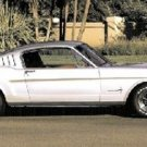 1965 Mustang Fastback Photo License Plate