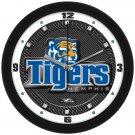 Memphis Tigers Carbon Fiber Textured Wall Clock
