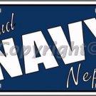 Proud Navy Nephew Novelty Vanity Metal License Plate