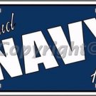 Proud Navy Aunt Novelty Vanity Metal License Plate