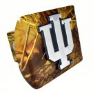 Indiana Hoosiers Camo Hitch Cover
