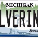 Michigan Wolverines Metal Novelty License Plate