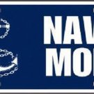 United States Navy Mom Novelty Metal License Plate