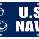 United States Navy Novelty Vanity Metal License Plate