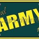 Proud Army Aunt Novelty Vanity Metal License Plate