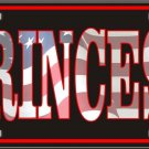 Princess Patriotic Vanity Metal Novelty License Plate