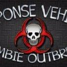 Response Vehicle Novelty Metal License Plate