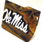 Ole Miss Camo Hitch Cover