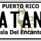 Catano Puerto Rico Metal Novelty License Plate