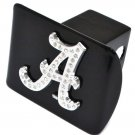 Alabama A Crystal Black Hitch Cover