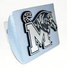 Memphis Metallic Silver Hitch Cover