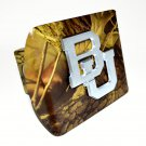 Baylor Matte Camo Hitch Cover