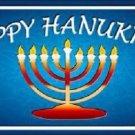 Hanukkah Novelty Metal License Plate