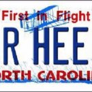 Tar Heels North Carolina Novelty Metal License Plate