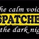 The Calm Voice Dispatchers Novelty Metal License Plate