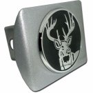 Buck ALL METAL Brushed Chrome Hitch Cover