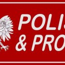 Polish And Proud Photo License Plate