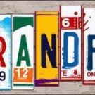 Grandpa Wood License Plate Art Novelty Metal License Plate