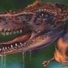 T-Rex Vanity Metal Novelty License Plate