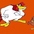 Foghorn and Chicken Hawk Photo Metal License Plate