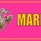 U.S. Marines Pink Photo License Plate