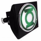 Green Lantern PLASTIC Black Hitch Cover