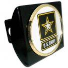 Army (WHITE Seal) Black Hitch Cover