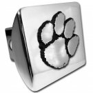 Clemson University (Paw) Shiny Chrome Hitch Cover
