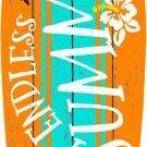 Endless Summer Metal Novelty Surf Board Sign