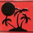 Island Palms Novelty Vanity Metal License Plate