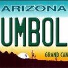 Humboldt Arizona Metal Novelty License Plate
