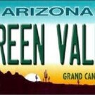 Green Valley Arizona Novelty Metal License Plate