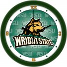Wright State Raiders Dimensional Wall Clock