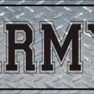 United States Army Vanity Metal Novelty License Plate