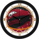 Arkansas Razorbacks Slam Dunk Wall Clock