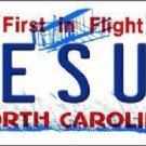 Jesus North Carolina Metal Novelty License Plate