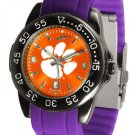 Clemson Tigers FantomSport AnoChrome Colored Band Watch