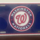 Washington Nationals Embossed Metal Novelty License Plate