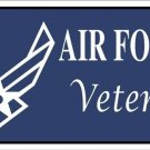 United States Air Force Veteran Vanity Metal Novelty License Plate