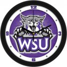 Weber State Wildcats Dimensional Wall Clock