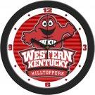 Western Kentucky Hilltoppers Dimensional Wall Clock