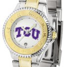 TCU Horned Frogs Ladies' Competitor Two-Tone Watch