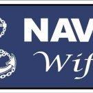 US United States Navy Wife Vanity Metal Novelty License Plate