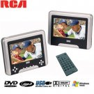 "RCA DUAL 7"" SCREEN CAR THEATER SYSTEM"