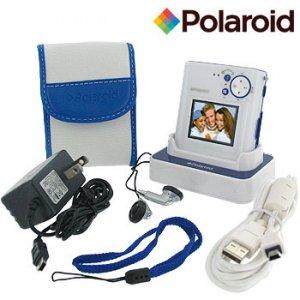 POLAROID 5.1 MP DIGITAL CAMERA /MP3 PLAYER