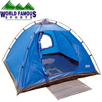 WORLD FAMOUS SPORTS 3 MAN SQUARE DOME TENT