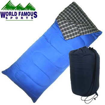 WORLD FAMOUS SPORTS COTTON SLEEPING BAG
