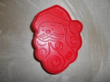 Hallmark Red Santa Face Curly Beard