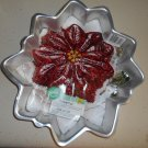 Wilton Cake Pan 2105-3312 Poinsettia Christmas Flower with Insert